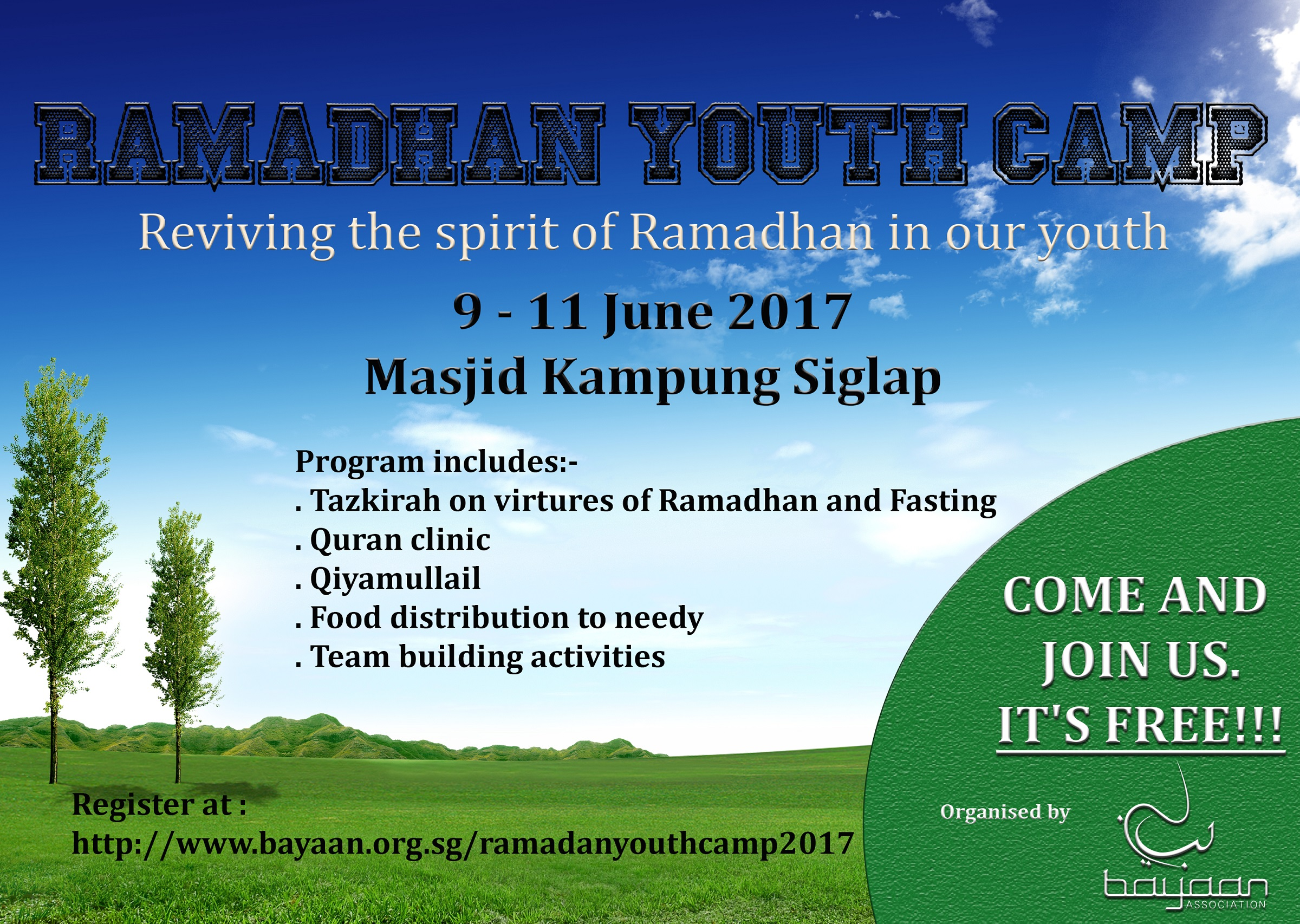 Ramadhan youth camp